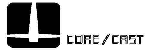 CORE/CAST INCORPORATED,