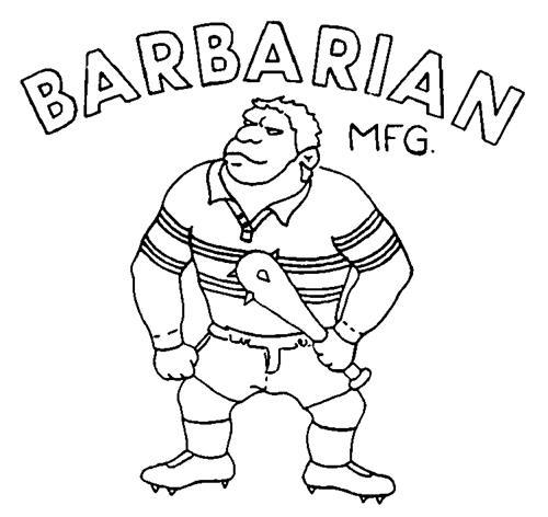 Barbarian Sports Wear Inc.
