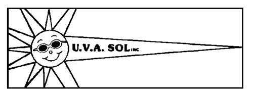 U.V.A. SOL INC.,