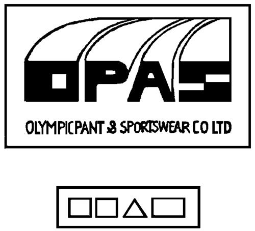 OLYMPIC PANT & SPORTSWEAR COMP