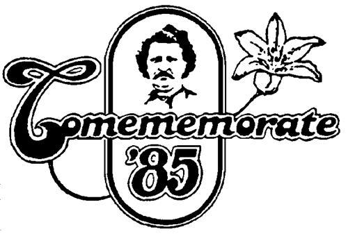 COMEMEMORATE '85 INC.,