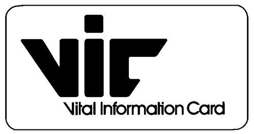 VITAL INFORMATION CARD INC.,