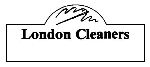 LONDON CLEANERS INC.,