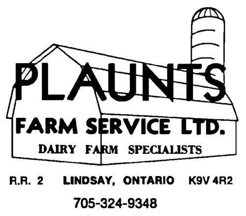 PLAUNTS FARM SERVICE LTD.,