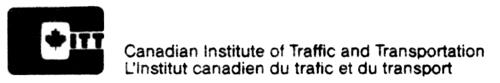 CANADIAN INSTITUTE OF TRAFFIC