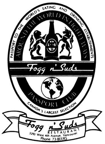 Fogg N' Suds International Ven