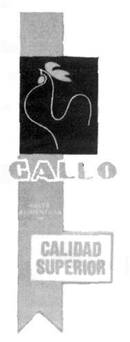 PRODUCTOS ALIMENTICIOS GALLO,
