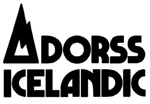DORSS ICELANDIC PRODUCTS INC.,