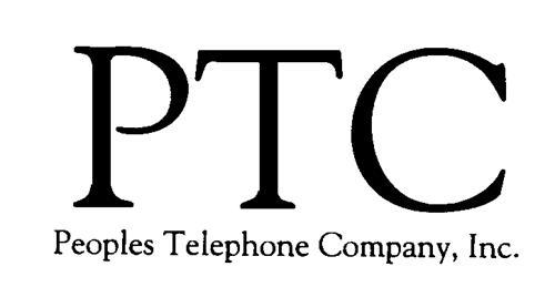 PEOPLES TELEPHONE COMPANY, INC