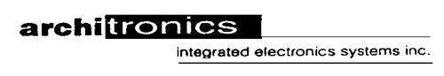 ARCHITRONICS INTEGRATED ELECTR
