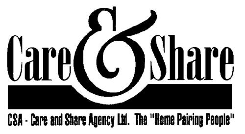 CSA CARE AND SHARE AGENCY LTD.