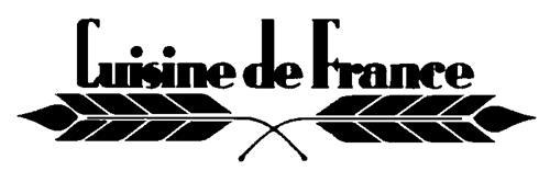 CUISINE DE FRANCE LIMITED,