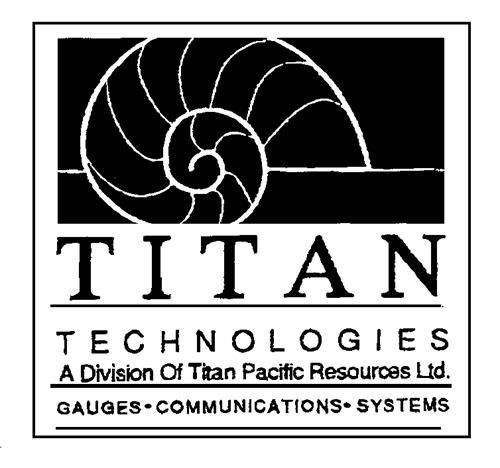 TITAN PACIFIC RESOURCES LTD.,