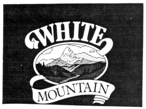 WHITE MOUNTAIN HOMEMADE ICE CR