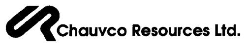 CHAUVCO RESOURCES LTD.,
