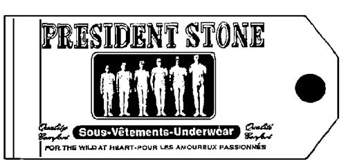 PRESIDENT STONE CLOTHING COMPA