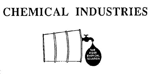 CHEMICAL INDUSTRIES INC.,
