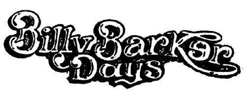 QUESNEL BILLY BARKER DAYS SOCI