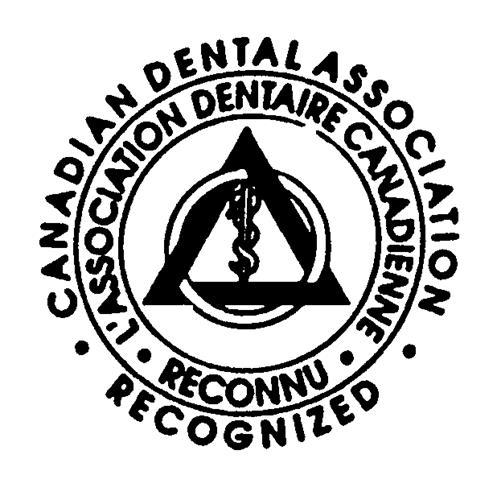 CANADIAN DENTAL ASSOCIATION -