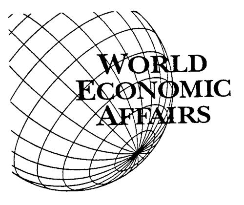 WORLD ECONOMIC AFFAIRS INC.,