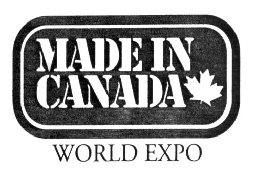 MADE IN CANADA WORLD EXPO INC.