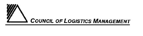 COUNCIL OF LOGISTICS MANAGEMEN