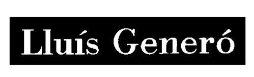 LLUIS GENERO GALLEGO,