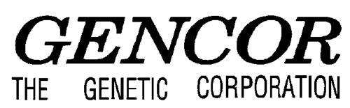 GENCOR THE GENETIC CORPORATION