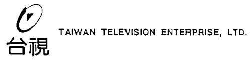TAIWAN TELEVISION ENTERPRISE,