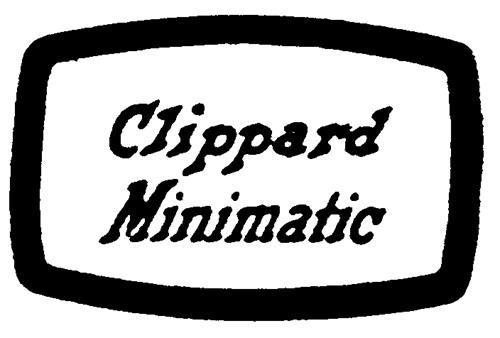 CLIPPARD INSTRUMENT LABORATORY