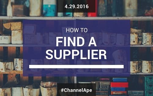 How to Find a Supplier to Dropship Your Products