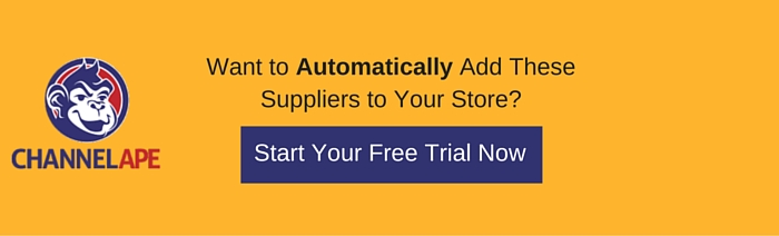 Automatically Add Drop Shipping Suppliers