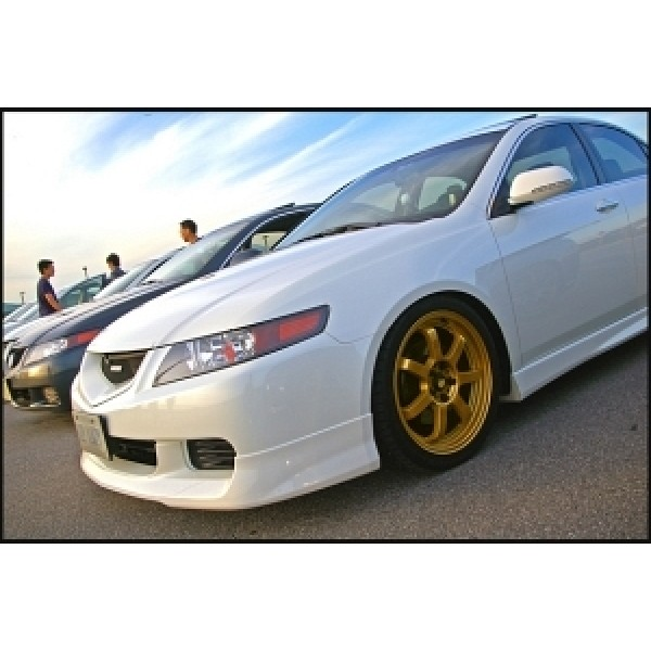 2004-2007 Acura TSX Front Lip OEM Style