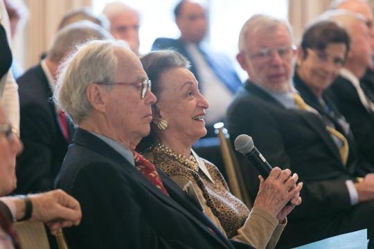 Ambassadors Bruce Gelb and Selwa Roosevelt
