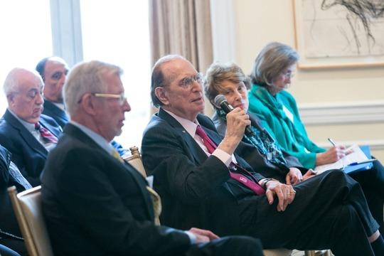 Ambassadors Chuck Cobb, John Loeb, Louise Oliver and Mrs. Rita Salzman