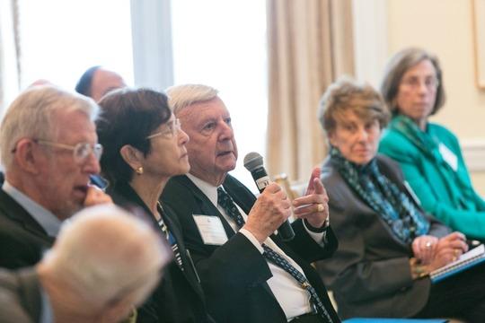Ambassadors Chuck Cobb, Sue Cobb, Gilbert A. Robinson, Louise Oliver and Mrs. Rita Salzman