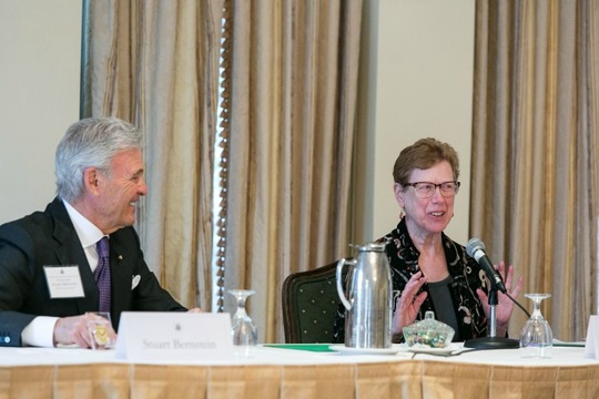 Ambassador Stuart Bernstein and Dr. Susan Martin