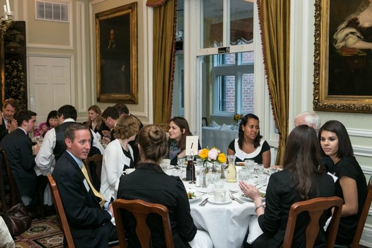 2016 International Affairs Fellows Welcome Orientation and Dinner