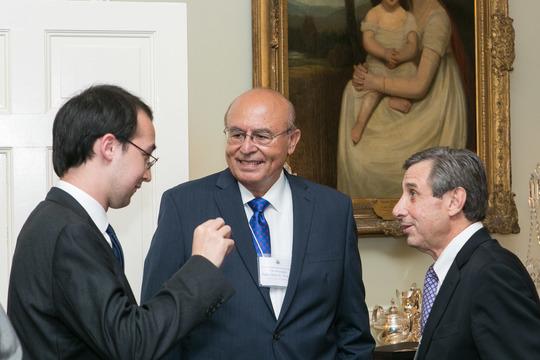 Benjamin Schwartz, Ambassador Abelardo Valdez and Ambassador Paul Russo