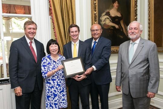 Ambassador G. Philip Hughes, Ambassador Julia Chang Bloch, Trey Curran, Ambassador Abelardo L. Valdez and Ambassador Timothy A. Chorba