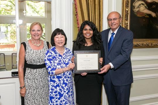 Ambassador Laurie Fulton, Ambassador Julia Chang Bloch, Sri Muppidi, Ambassador Abelardo L. Valdez