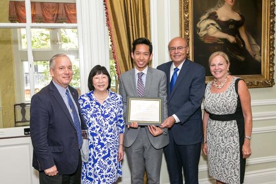 Ambassador Thomas Siebert, Ambassador Julia Chang Bloch, Tenzin Dawa Thargay, Ambassador Abelardo L. Valdez, Ambassador Laurie Fulton