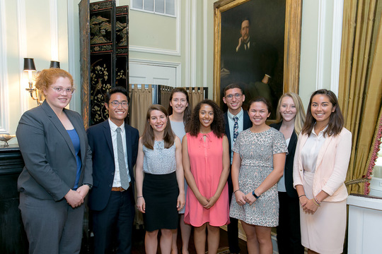 Class of 2017 Fellows on their Fellowship Program Graduation Day