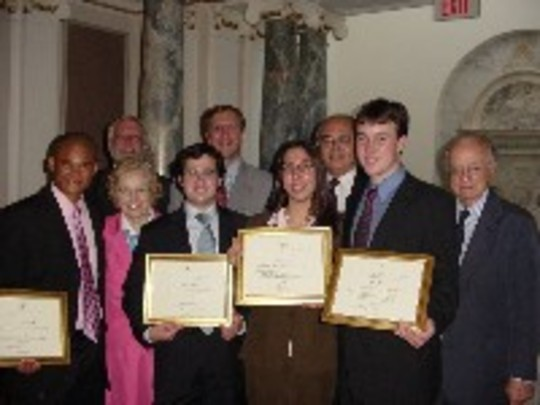 Class of 2005 Fellows and Mentors at the Graduation Ceremony