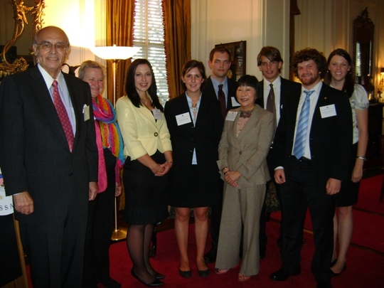 Class of 2010 Fellows and Ambassador Abelardo L. Valdez
