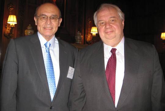 Ambassador Abelardo L. Valdez and H.E. Sergey Kislyak, the Ambassador of Russia
