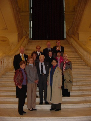 2004 Mission to Poland and Romania: Delegation members