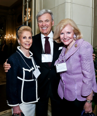 May 6, 2013 Awards Ceremony and Reception: Wilma Bernstein, Ambassador Stuart A. Bernstein and Ambassador Brenda LaGrange Johnson. Photo credit Tony Powell