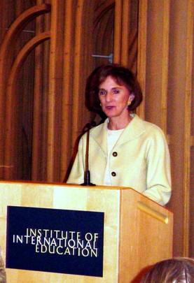Fall 2004: Gilian Martin Sorensen, Senior Adviser to the UN Foundation