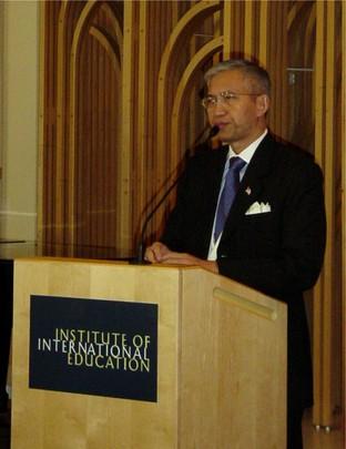 Fall 2004: Ambassador Sichan Siv, U.S. Representative to the UN Economic and Social Council